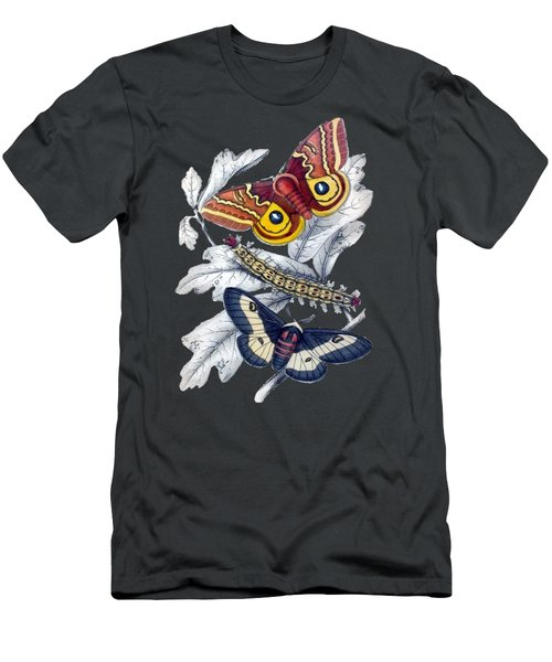 Butterfly Moth T Shirt Design Men's T-Shirt (Athletic Fit)