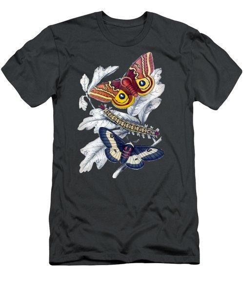 Butterfly Moth T Shirt Design Men's T-Shirt (Slim Fit)