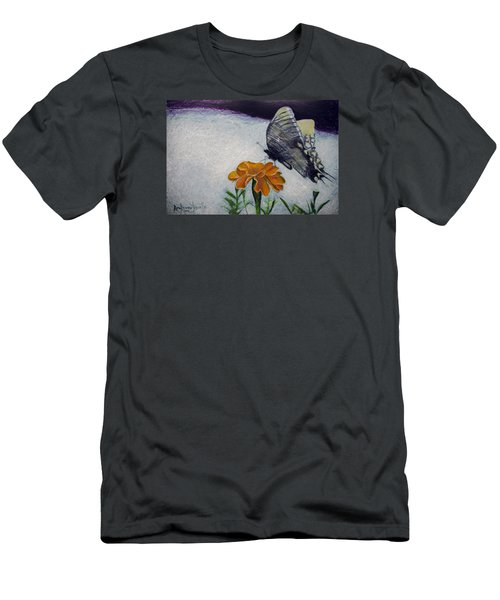 Butterfly Men's T-Shirt (Slim Fit) by Ron Richard Baviello
