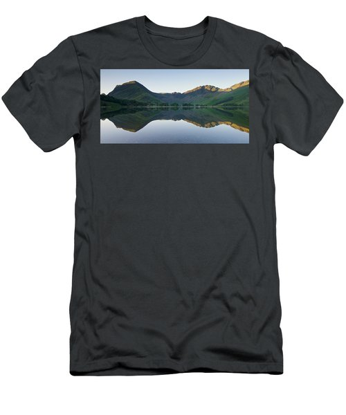 Buttermere Reflections Men's T-Shirt (Slim Fit) by Stephen Taylor