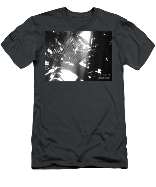 Men's T-Shirt (Slim Fit) featuring the photograph Bw Radiance by Megan Dirsa-DuBois