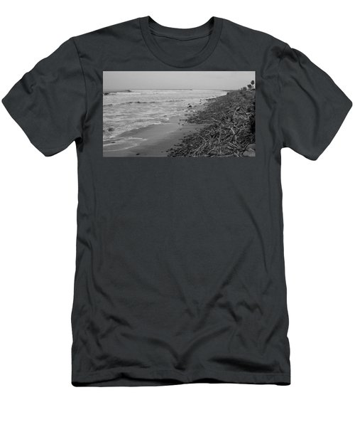 C Street Winter Men's T-Shirt (Slim Fit) by Mark Barclay