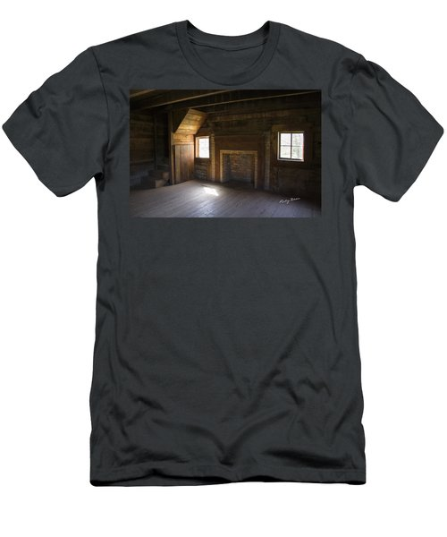 Cabin Home Men's T-Shirt (Slim Fit) by Ricky Dean