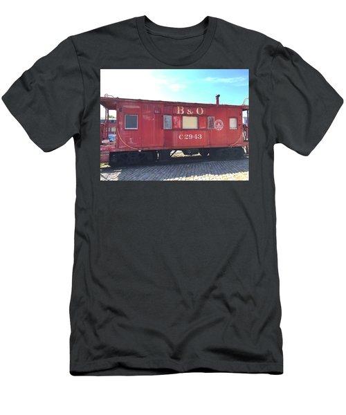 Caboose Men's T-Shirt (Athletic Fit)