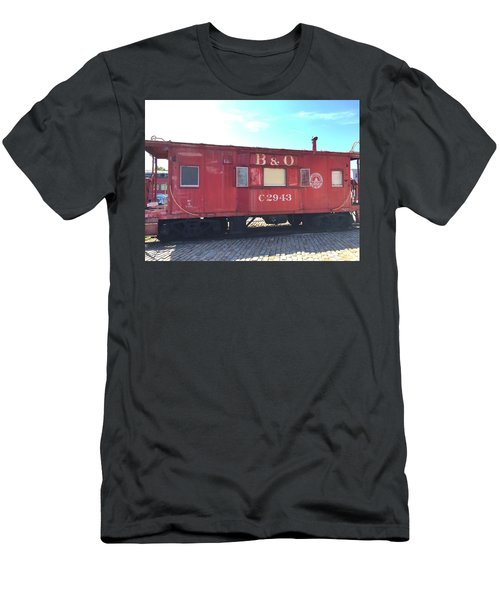 Caboose Men's T-Shirt (Athletic Fit)