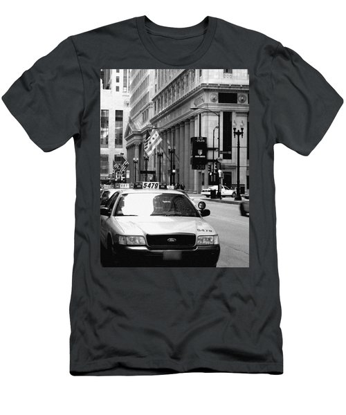 Cabs In The City Men's T-Shirt (Athletic Fit)