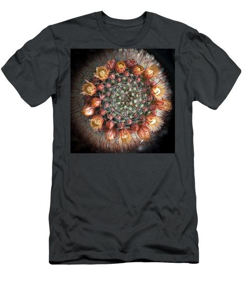 Men's T-Shirt (Slim Fit) featuring the photograph Cactus Flowers  by Catherine Lau
