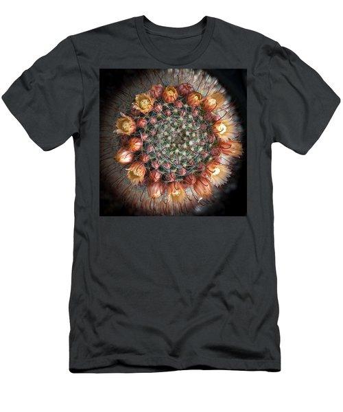 Cactus Flowers  Men's T-Shirt (Slim Fit) by Catherine Lau