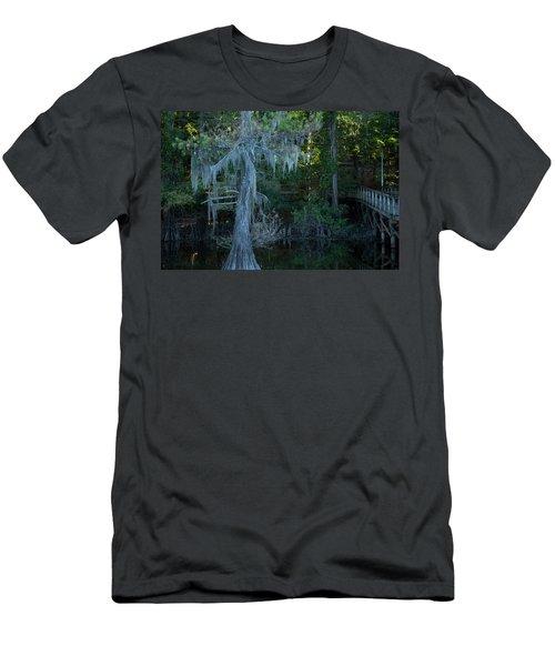 Caddo Lake #1 Men's T-Shirt (Athletic Fit)