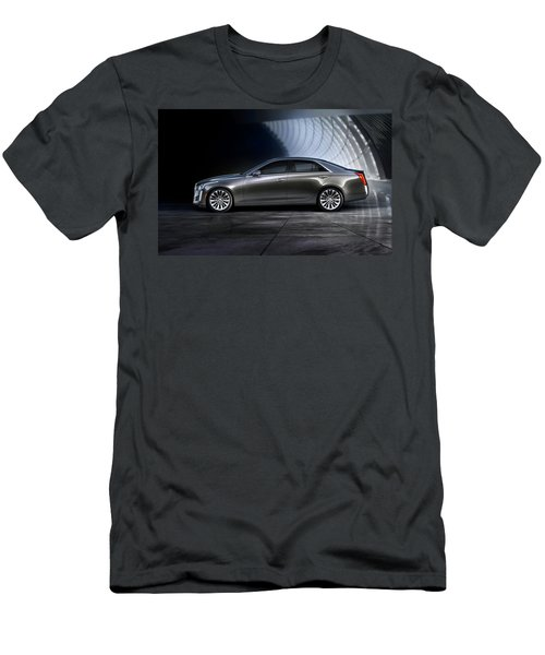 cadillac CTS Men's T-Shirt (Athletic Fit)