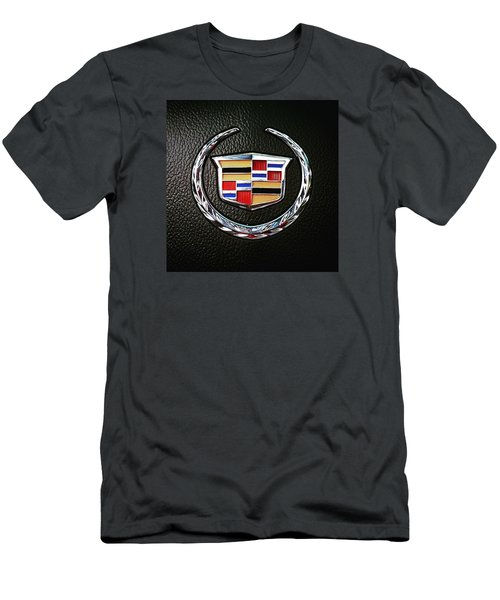 Cadillac Emblem  Men's T-Shirt (Athletic Fit)