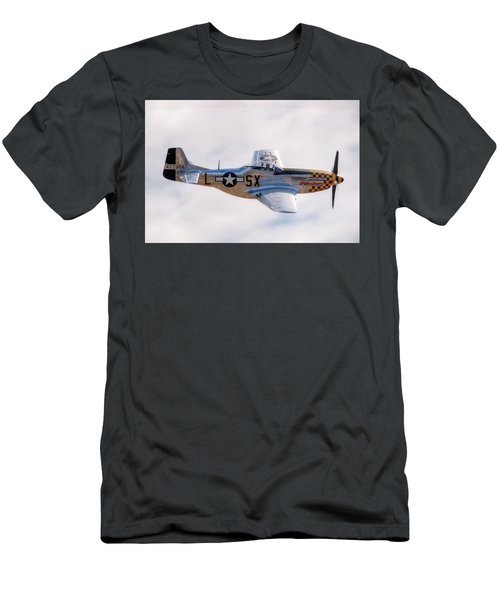 Cadillac Of The Sky  Men's T-Shirt (Slim Fit) by Jeff Cook