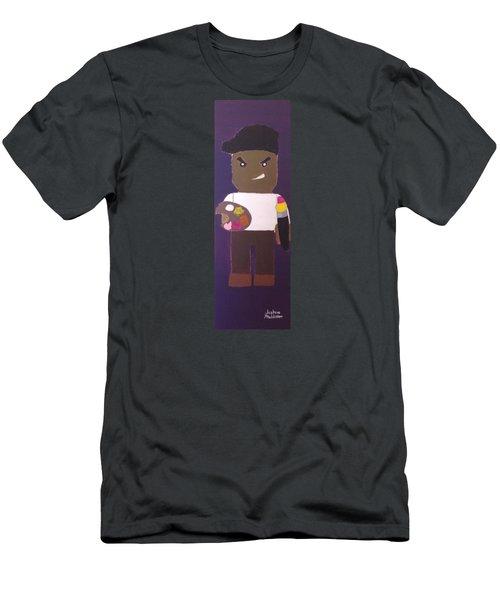 Cadmium Artisto Men's T-Shirt (Slim Fit) by Joshua Maddison