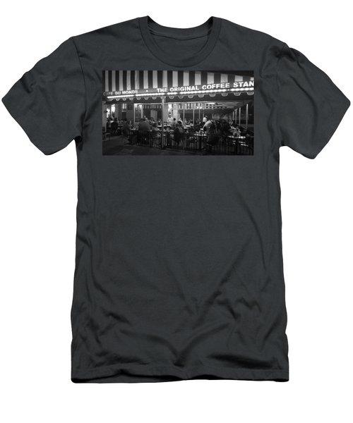 Cafe Du Monde #1 Men's T-Shirt (Athletic Fit)