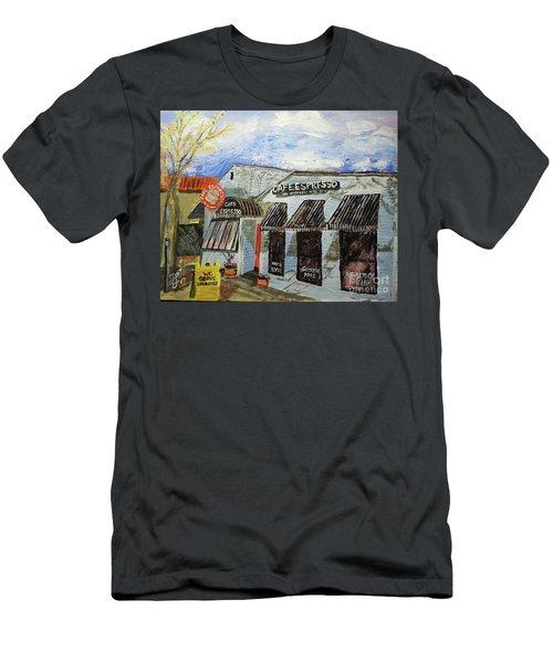 Cafe Espresso Men's T-Shirt (Athletic Fit)