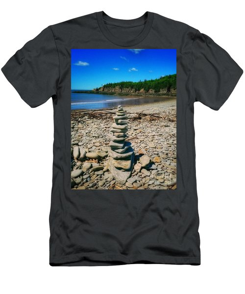 Cairn In Eastern Canada Men's T-Shirt (Athletic Fit)