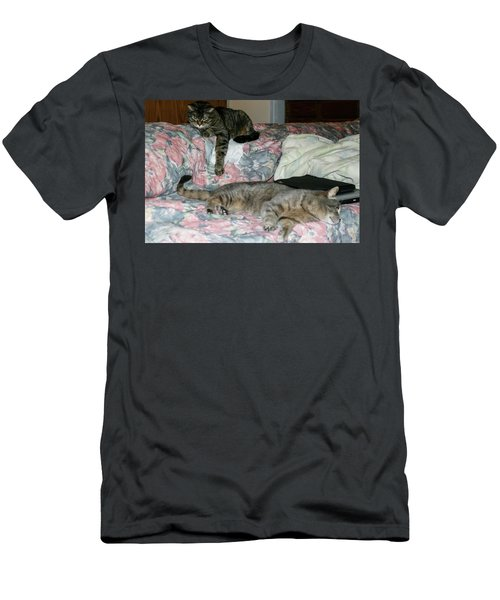 Cal-4 Men's T-Shirt (Athletic Fit)