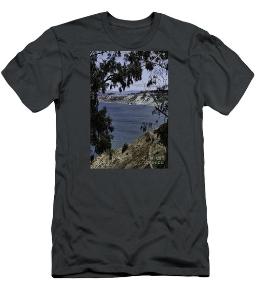 Men's T-Shirt (Slim Fit) featuring the photograph Cali Shore by Judy Wolinsky