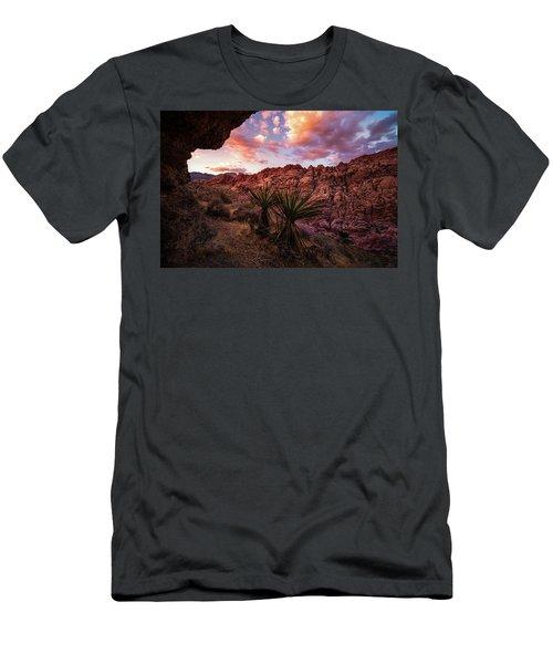 Calico Sunset Men's T-Shirt (Athletic Fit)