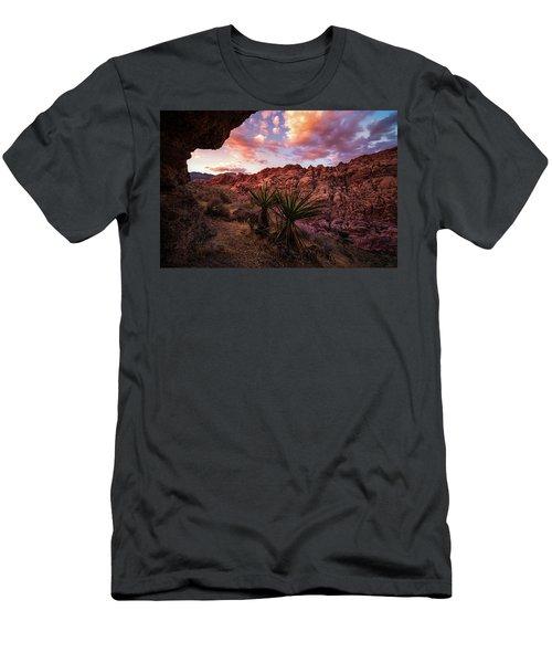 Calico Sunset Men's T-Shirt (Slim Fit)