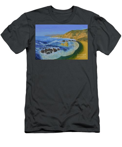 Calif. Coast Men's T-Shirt (Athletic Fit)
