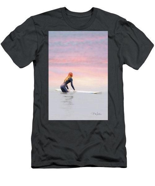 California Surfer Girl II Men's T-Shirt (Athletic Fit)