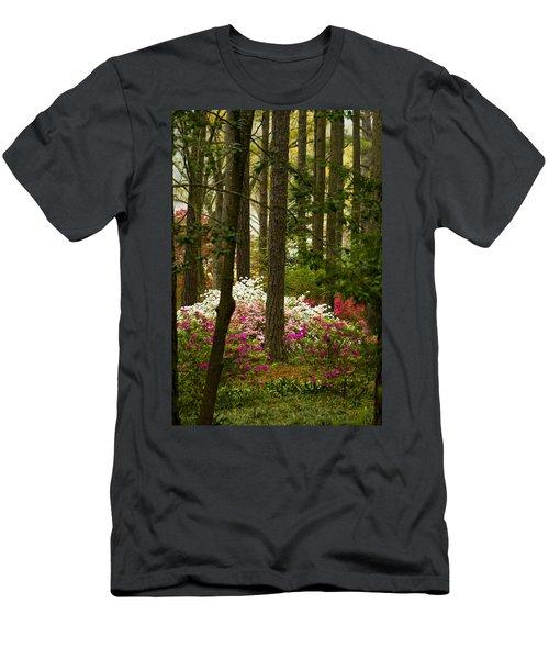 Callaway Gardens Spring Azaleas Men's T-Shirt (Athletic Fit)