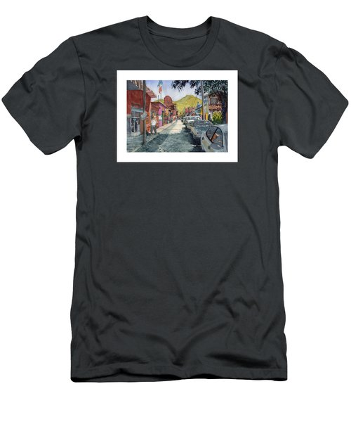 Calle Turistica Mx Men's T-Shirt (Athletic Fit)