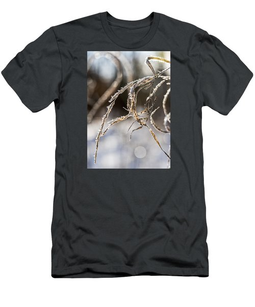 Calligraphy In The Grass Men's T-Shirt (Athletic Fit)