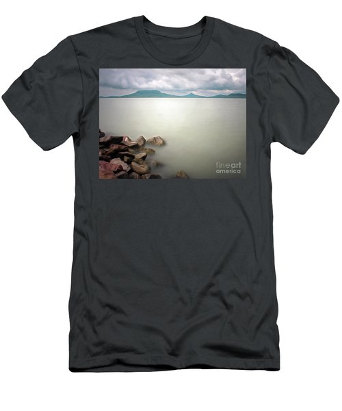 Calm At The Lake Men's T-Shirt (Athletic Fit)