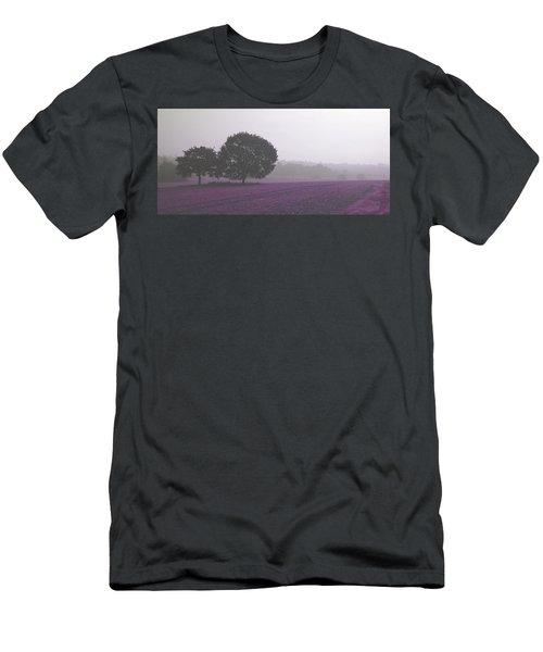 Calm Autumn Mist Men's T-Shirt (Athletic Fit)