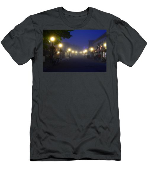 Calm In The Streets Men's T-Shirt (Athletic Fit)
