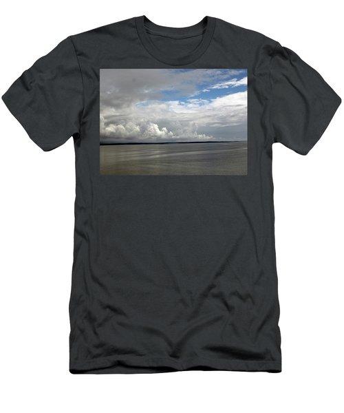Calm Sea Men's T-Shirt (Athletic Fit)