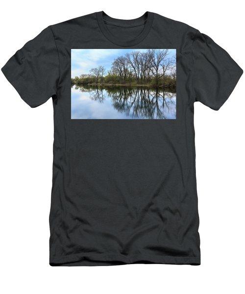 Calm Waters At Wayne Woods Men's T-Shirt (Athletic Fit)