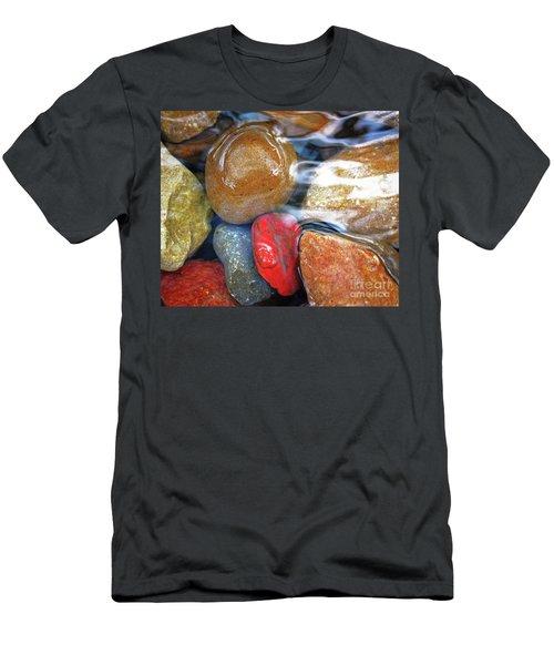 Calming Stones Men's T-Shirt (Athletic Fit)
