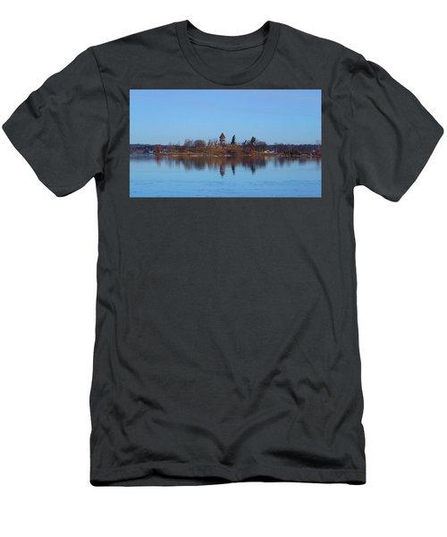 Calumet Island Reflections Men's T-Shirt (Athletic Fit)
