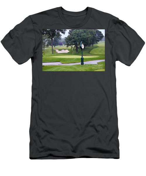 Camel Sand Trap In Medinah Men's T-Shirt (Athletic Fit)