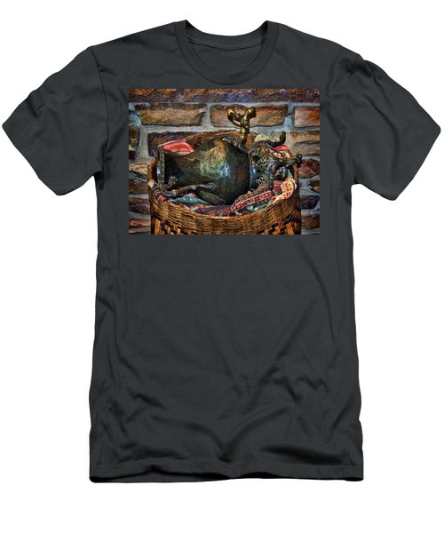 Men's T-Shirt (Slim Fit) featuring the photograph Camelback 8846 by Sylvia Thornton