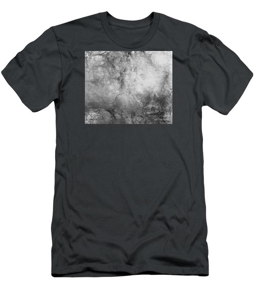 Men's T-Shirt (Slim Fit) featuring the painting Camouflage by Trilby Cole