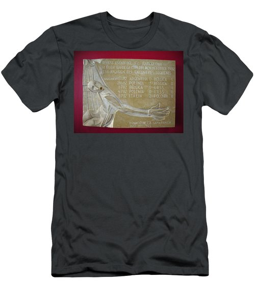 Men's T-Shirt (Slim Fit) featuring the photograph Camp Nou 1982 by Juergen Weiss