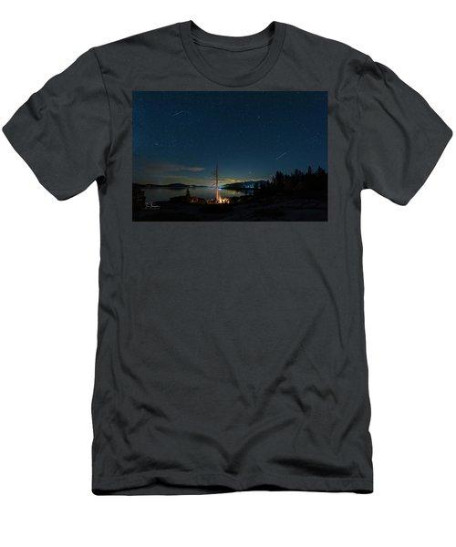 Campfire 1 Men's T-Shirt (Athletic Fit)