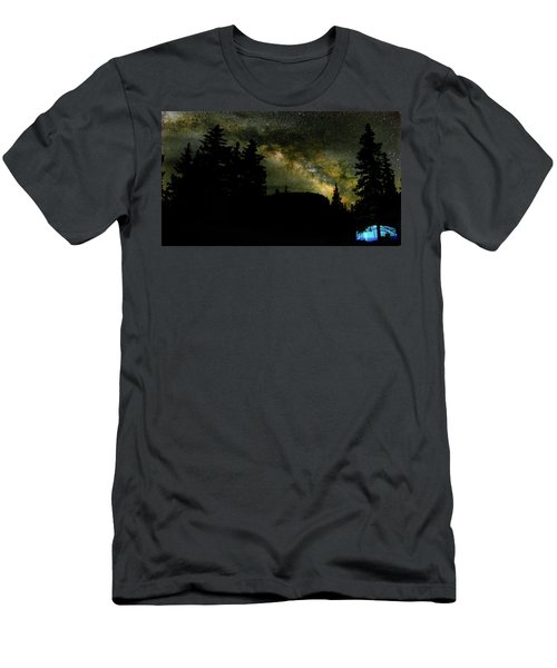 Camping Under The Milky Way 2 Men's T-Shirt (Athletic Fit)