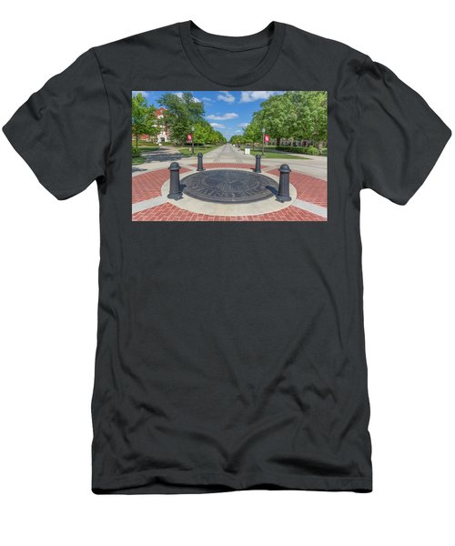 Campus Seal On The Campus Of The University Of Oklahoma Men's T-Shirt (Athletic Fit)
