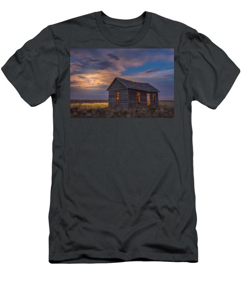 Men's T-Shirt (Athletic Fit) featuring the photograph Can You Leave The Light On by Darren White
