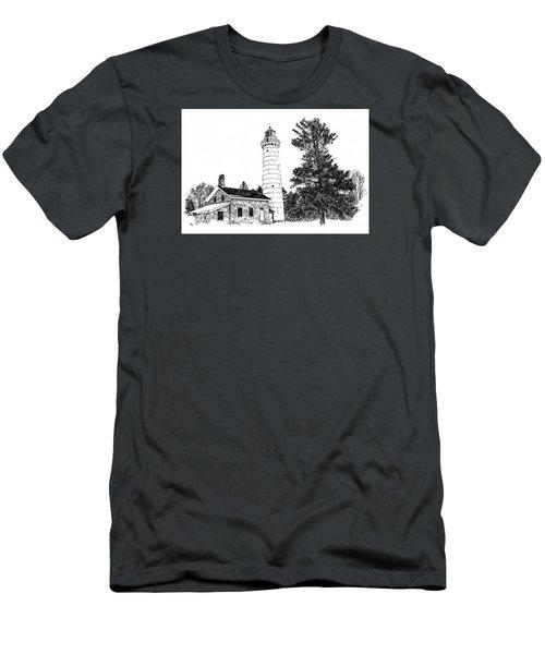Cana Seldom Seen Men's T-Shirt (Slim Fit) by Jim Rossol