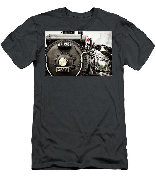 Canada Day Men's T-Shirt (Slim Fit) by Brad Allen Fine Art