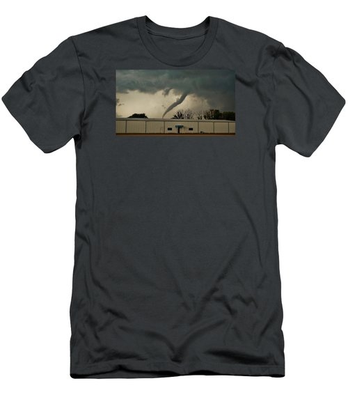 Canadian Tx Tornado Men's T-Shirt (Athletic Fit)