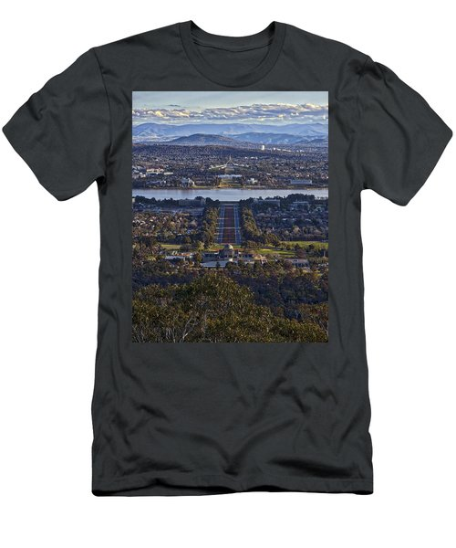 Canberra - Australia Men's T-Shirt (Athletic Fit)