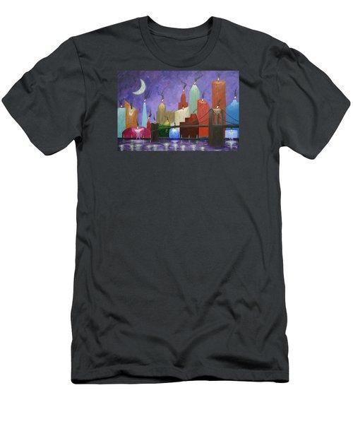 Candleopolis Men's T-Shirt (Athletic Fit)