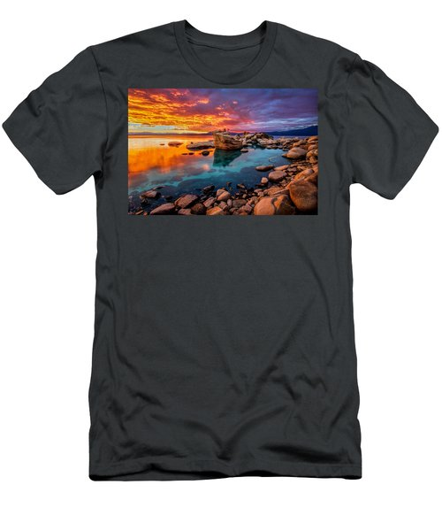Candy Skies Men's T-Shirt (Athletic Fit)